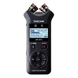 【ポイント6倍】【送料込】TASCAM タスカム DR-07X ステレオオーディオレコーダー/USBオーディオインターフェース【smtb-TK】