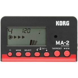 【ポイント2倍】【メール便・送料無料・代引不可】KORG コルグ MA-2-BKRD カード型 電子メトロノーム 【smtb-TK】