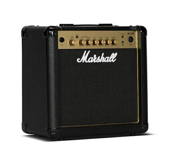 【限定Marshallピック2枚付】【送料込】Marshall マーシャル MG15R Gold 正規輸入品【smtb-TK】