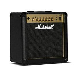 【特典付】【ポイント15倍】【限定Marshallピック2枚付】【送料込】Marshall マーシャル MG15R Gold 正規輸入品【smtb-TK】