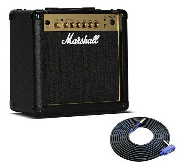 【限定Marshallピック2枚付】【送料込】【VOXシールド付】Marshall マーシャル MG15R Gold 正規輸入品【smtb-TK】