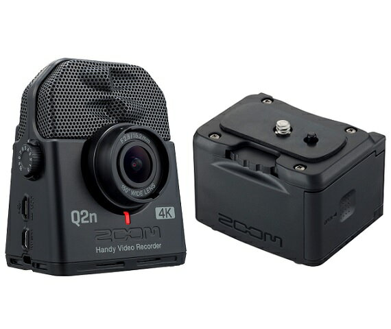 【送料込】【外部バッテリーケース/BCQ-2n付】ZOOM ズーム Q2n-4K ミュージシャンのための4Kカメラ Handy Video Recorder ハンディビデオレコーダー【smtb-TK】