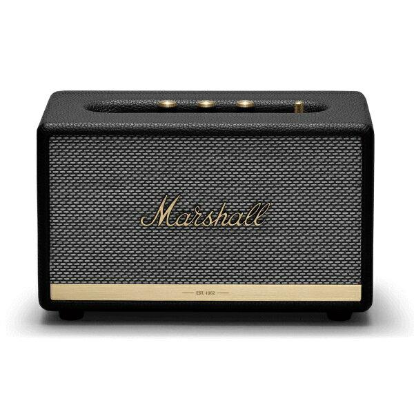 【ポイント10倍】【送料込】【国内正規品】Marshall マーシャル ZMS-1001900 Acton II Bluetooth Black Bluetooth5.0 搭載 コンパクト オーディオ スピーカー 【smtb-TK】