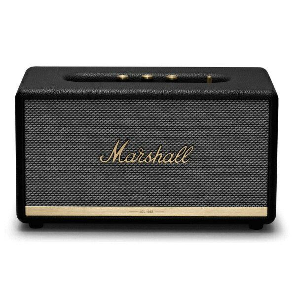 【ポイント12倍】【送料込】【国内正規品】Marshall マーシャル ZMS-1001902 StAMNore II Bluetooth Black Bluetooth5.0 搭載 コンパクト オーディオ スピーカー 【smtb-TK】