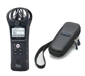 【ポイント5倍】【送料込】【専用ソフトケース付】ZOOM ズーム H1n シンプル操作の高音質レコーダー【smtb-TK】