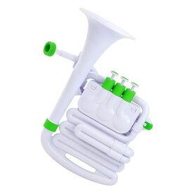 【ポイント5倍】【送料込】NUVO ヌーボ N610JHWGN jHorn ホワイト/グリーン プラスチック製 管楽器 【smtb-TK】