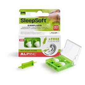 【ポイント2倍】【メール便・送料無料・代引不可】ALPINE アルパイン Sleep Soft MINI GRIP 安眠用 イヤープロテクター 耳栓 【smtb-TK】