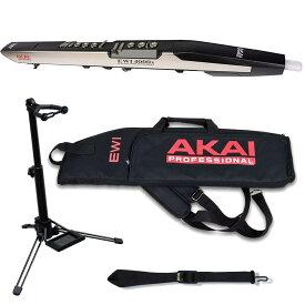 【送料込】【純正ケース+純正ストラップ+スタンド/WSS-100付】AKAI Professional EWI4000s 追加音源版 ウインド・シンセサイザー 【smtb-TK】