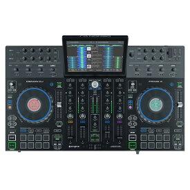 【ポイント10倍】【送料込】Denon DJ PRIME 4 / 10インチタッチスクリーン搭載 スタンドアローン4デッキDJシステム 【smtb-TK】