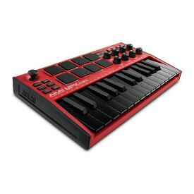 【ポイント5倍】【送料込】AKAI Professional MPK mini MK3 Red コンパクト キーボード / パッドコントローラー【smtb-TK】