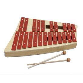 【送料込】SONOR ソナー SN-NG31 アルト・グロッケン 23音[C-B♭] バチ2本付 鉄琴 オルフ楽器【smtb-TK】