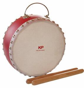 【ポイント10倍】【送料込】Kids Percussion/キッズパーカッション KP-390/JD/RE キッズ和太鼓/レッド【smtb-TK】