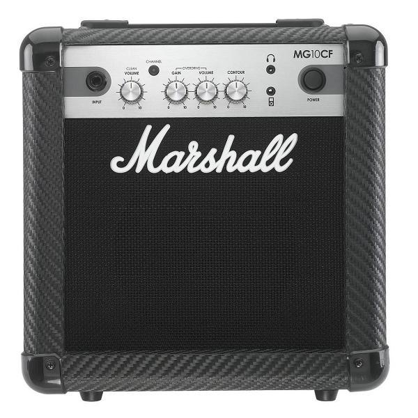 【限定Marshallピック2枚付】【送料込】Marshall MG10CF マーシャル MG CF(カーボン・ファイバー)シリーズ【smtb-TK】