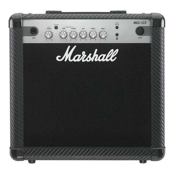 【限定Marshallピック2枚付】【送料込】Marshall MG15CF マーシャル MG CF(カーボン・ファイバー)シリーズ【smtb-TK】
