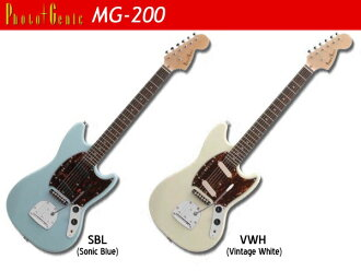 Photogenic MG-200 photogenic Mustang type beginner beginners electric guitar