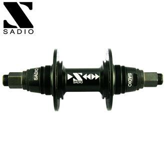SADIO Sado bike fixie rear hub SUPER SPARK REAR HUB 14 mm 36 h 32H: MATTE BLACK