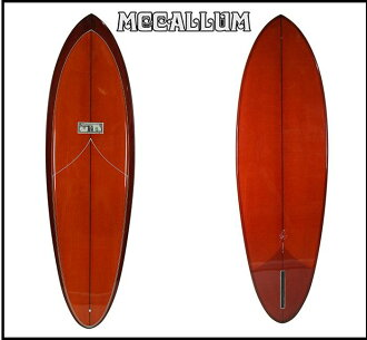 "MCCALLUM SURFBOARDS maccaramsayf Board POINDEXTER model: 6 ' 5 ""jeffmaccaramsheap"