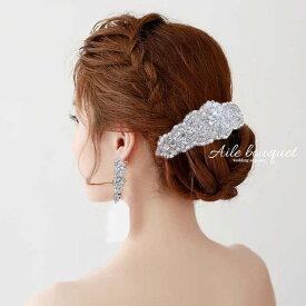 96317e552709f margaretL ビジュー コーム マーガレット ヘッドドレス 結婚式 ウェディング ブライダル