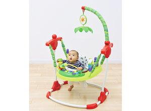 【送料無料】日本育児 はらぺこあおむし アクティビティジャンパー (6360003001)/ バウンサー 歩行器 おもちゃ 乗り物 立ったまま遊べる 座面が360°回転するから飽きない 10ヶ所の楽