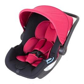 【送料無料】日本育児【新生児-15ヶ月頃】新生児から使える トラベルシステム スマートキャリー ISOFIXベースセット レッド 28001 / チャイルドシート ベビーキャリー ロッキングチェア