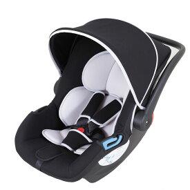 【送料無料】日本育児 【新生児-15ヶ月頃】新生児から使える トラベルシステム スマートキャリー イージーベースセット ブラック 29001 / チャイルドシート ベビーキャリー ロッキングチェア