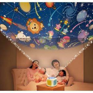 タカラトミー 天井いっぱい!おやすみホームシアター / 寝かしつけ TAKARATOMY おもちゃ ベビー 子供 子守唄 部屋の天井 プラネタリウム