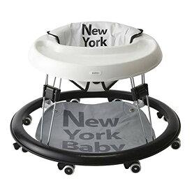 【入荷未定】カトージ ベビーウォーカー New york baby ホワイト 28800 / 歩行器 歩行機 【ラッキーシール対応】