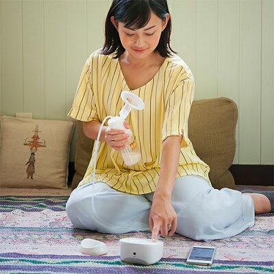 Pigeon(ピジョン)さく乳器母乳アシスト電動ProPersonal(プロパーソナル)00757/搾乳機搾乳器母乳育児授乳携帯持ち運びスマホで管理