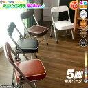 5脚セット!ミニパイプ椅子 携帯 チェア 折りたたみ椅子 子供椅子 子ども用チェア 子供用パイプイス 軽量 約2.5kg ♪…