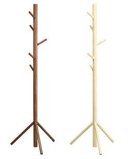 コートハンガー高さ150cmポールハンガー帽子ハンガー玄関ハンガーキッズハンガー天然木製子供部屋ハンガー♪【05P23Sep15】
