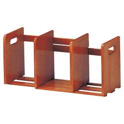 天然木製スライド本立てブックスタンドマガジンラック伸縮本立て卓上ブックエンドスライド本棚完成品♪