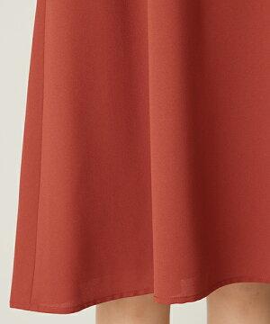 【aimeranche】Vネック袖レースIラインワンピースドレス【エメパーティードレスフォーマルパーティチャコールグレーワインブルー袖付きドレスお呼ばれ結婚式二次会大人上品謝恩会同窓会送料無料aimer】