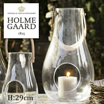 【クーポン利用で10%OFF】ホルムガード ランタン 29cm 【HOLMEGAARD DESIGN WITH LIGHT Lantern Clear H290mm 4343500 】