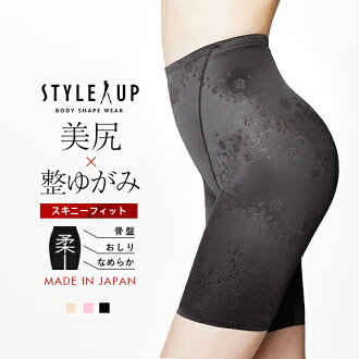 Revision underwear-style up Kinney fitting [pelvic belt after giving birth girdle pelvis tightening underwear girdle buttock lifting manipulation underwear サンテラボ pelvis girdle]