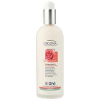 Logona cleansing milk rose & Aloe 125mlfs3gm