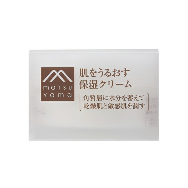 【クーポン利用で10%OFF】松山油脂 肌をうるおす保湿クリーム 50g(M-mark)