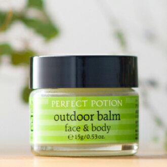 Recenty アウトドアバーム 脸 & 身体的脸和身体 15 g 药水、 户外香膏脸上完美的 & 身体梨花博客