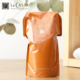 ラカスタ(LaCASTA) アロマエステ ヘアソープ 600ml リフィル / シャンプー オーガニック ラ・カスタ アルペンローゼ 低刺激 弱酸性 詰め替え | ラ カスタ オーガニックシャンプ ヘアケア アロマシャンプー
