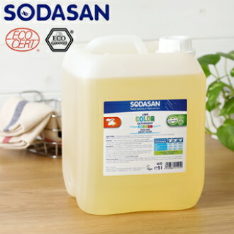 Sodasan laundry liquid 5 liters: white and color pattern of liquid detergent: