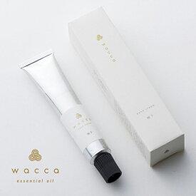 wacca (ワッカ) ハンドクリーム 柚子/月桃 ギフト 和精油 アロマ 国産 柑橘
