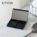 エトヴォス(ETVOS) プレストタイプミネラルファンデーション ブラックケース / タイムレスフォギーミネラルファン…