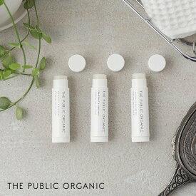 THE PUBLIC ORGANIC(ザ・パブリックオーガニック) 精油リップスティック 4g リップクリーム 保湿