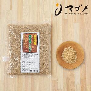 マゴメ 国内産 発芽玄米 (有機栽培米使用) 1kg | 有機米 発芽玄米 玄米 コシヒカリ 有機JAS 有機 オーガニック ごはん ご飯 米 お米 食物繊維 ダイエット