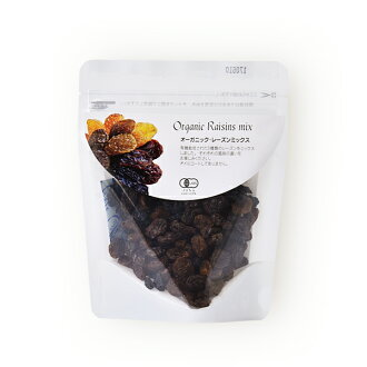 Organic raisins mix 80 g [natural kitchen]