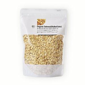 ナチュラルキッチン オーガニック・オートミール 300g [ オートミール オート麦 燕麦 低GI値 ] | オーツ麦 麦 穀物・豆・麺類 オーガニック食品 健康食品 その他 健康 えん麦 食品・フード