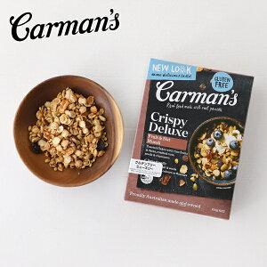 Carman's(カーマンズ) デラックスグルテンフリーミューズリー 400g | ミューズリー シリアル 朝食 おやつ グルテンフリー ライスフレーク 低GI ドライフルーツ アーモンド レーズン 遺伝子組