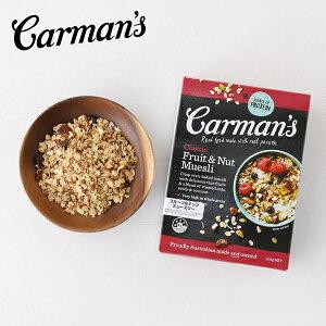 Carman's(カーマンズ) クラシックフルーツ&ナッツミューズリー 500g | ミューズリー シリアル 朝食 おやつ 低GI アーモンド レーズン 遺伝子組換作物不使用 人工香料不使用 保存料不使用 ハ