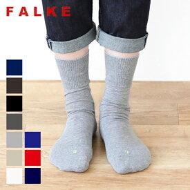 【26時間限定!最大10%OFFクーポン配布中!】【2021秋冬】FALKE(ファルケ) ラン #16605 run 靴下 レディース メンズ ソックス くつ下 くつした レディースソックス 婦人靴下 おしゃれ クルーソックス グレー 黒 2021AW