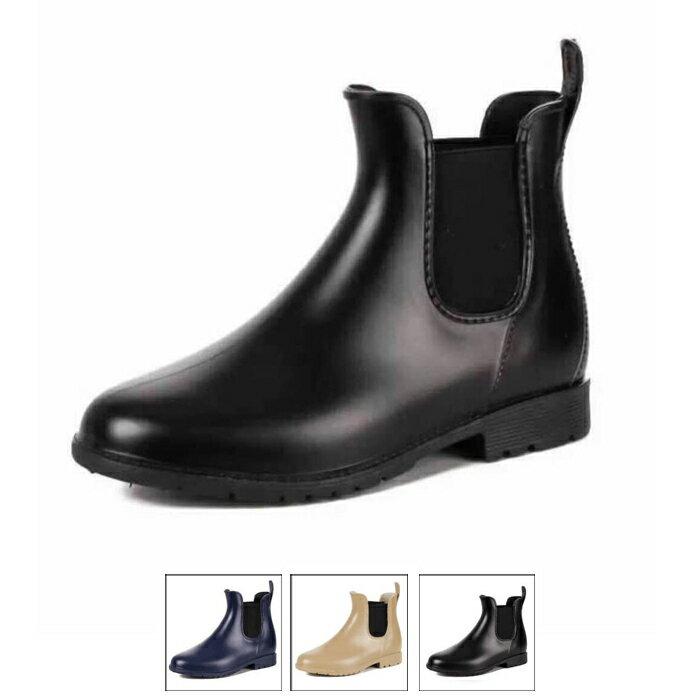 サイドゴアショートレインブーツ/レインシューズ/ゴム長靴/雨靴/ガーデニングブーツ/レディース/レインブーツ/スノーブーツ/