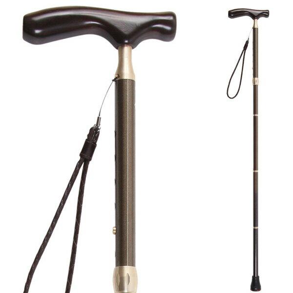 sinano stick [ グランドカイノス ヘリンボーンブラウン @28080] シナノ 歩行杖・ステッキ KAINOS Men's 【 ウォーキング 用】【正規代理店商品】